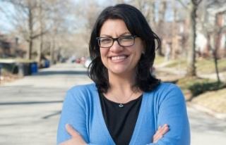 ABD'li Müslüman kadın siyasetçi Tlaib'den...