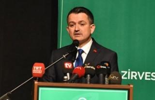 Bakan Pakdemirli: 50 hayvancılık projesine 37 milyon...