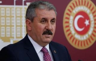 BBP Genel Başkanı Destici: Hiç kimse Gezi ve benzeri...