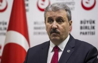 BBP Genel Başkanı Destici: İsrail terörist bir...