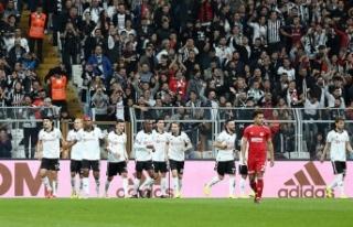 Beşiktaş ilk yarıda beklentileri karşılayamadı