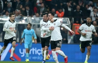 Beşiktaş ilk yarıyı kapatıyor