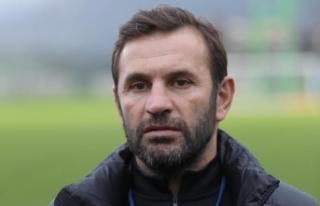 Çaykur Rizespor Teknik Direktörü Buruk: İlk yarıyı...