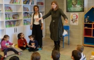Çocuklara kütüphaneyi sevdirecek proje