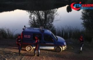 Çorum'da baraj gölünde 4 el bombası bulundu