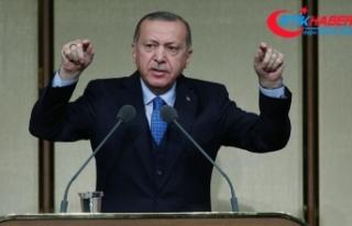 Cumhurbaşkanı Erdoğan: Bu toprakları bölmeye...