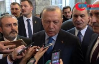 Cumhurbaşkanı Erdoğan: 'Meclis Başkanının...