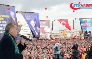 Cumhurbaşkanı Erdoğan: Suriye'deki operasyonlarımıza...