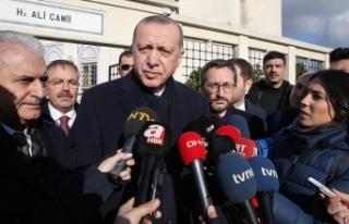 Cumhurbaşkanı Erdoğan: Suriye'nin psikolojik...