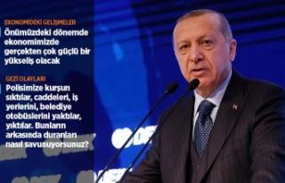 Cumhurbaşkanı Erdoğan: Türkiye'nin şahlanışını...