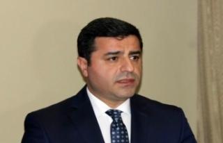 Demirtaş'ın reddi hakim talebi reddedildi