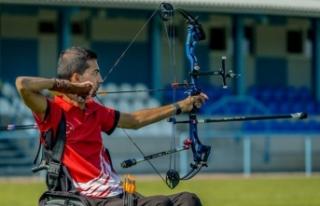 Dünya Şampiyonu Paralimpik Milli Okçu Yiğit Caner...
