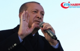 Erdoğan: Avrupa sokaklarındaki görüntüleri endişeyle...