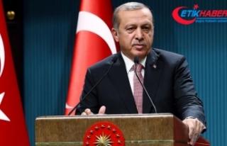 Erdoğan: Paris'te yaşananlar karşısında...
