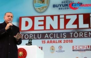 Erdoğan: Terör örgütleriyle mücadelemizi ara...