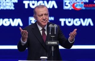 Erdoğan: Türkiye'nin 2053 ve 2071 vizyonlarını...