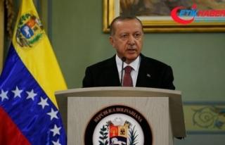 Erdoğan: Venezuela'da 2 FETÖ okulu Maarif Vakfına...