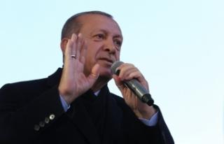 Erdoğan'dan Danıştay savcısına tepki