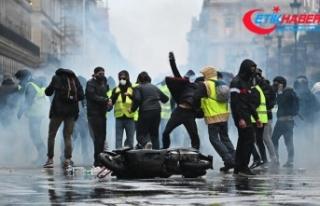 Fransa sarı yelekliler 'krizinden' çıkış...