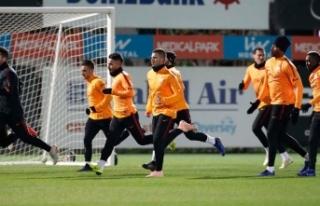 Galatasaray'da gözler Süper Lig'e çevrildi