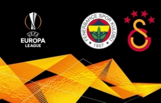 Galatasaray ve Fenerbahçe'nin rakipleri belli...