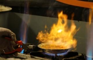 Gaziantep'in meşhur kahvaltısı 'beyran'...