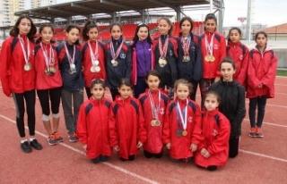 Gaziantep'in şampiyon yürüyüşçüleri