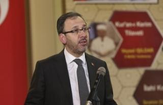 Gençlik ve Spor Bakanı Kasapoğlu: Gelecek, bugünden...