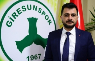 Giresunspor'un yeni başkanı Sacit Ali Eren...