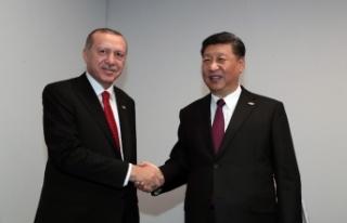 Cumhurbaşkanı Recep Tayyip Erdoğan, Çin Devlet...