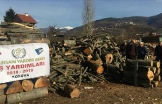 İHH'dan Balkanlar'da 1500 aileye kışlık...