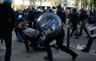 İspanya karşıtı gösteriler Barselona'da...