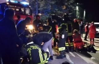 İtalya'da gece kulübünde izdiham: 6 ölü, 120...