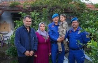 'Jandarma, oğlumu 'rüzgar' gibi hastaneye...