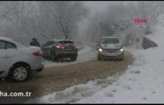 Kar yağışı yurtta etkili olmaya başladı