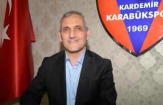 Kardemir Karabükspor Kulübü Başkanı Yüksel:...