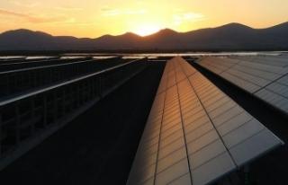 Kayseri'de Japon Panasonic ortaklı güneş enerjisi...