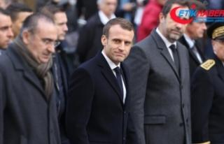 Macron 'sarı yelekliler' ile ilgili açıklama...