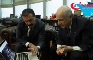 MHP Genel Başkanı Bahçeli 'Yılın Fotoğrafları'nı...