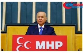 MHP Lideri Bahçeli: Çözüm süreci gömüleli çok...