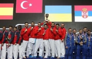 Milli karateciler yılı 477 madalyayla tamamladı