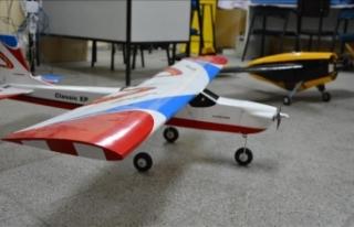 'Model uçak' hayaline doktorluktan sonra...