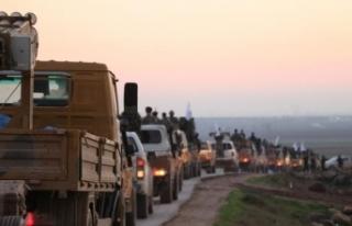 ÖSO'dan Münbiç cephe hattına yeni takviye
