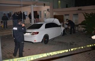 Park halindeki otomobile EYP'li saldırı