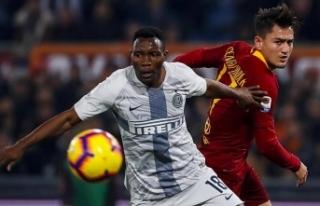 Roma ile Inter berabere kaldı