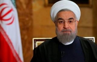 """Ruhani'den """"saygı çerçevesinde müzakereye..."""