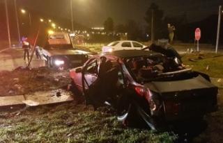 Samsun'da kaza: 1 ölü, 7 yaralı