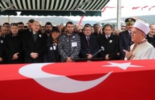 Şehit polis Nazım Tuncer'i son yolculuğuna...