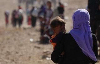 Sincarlılar PKK varlığı nedeniyle göçmen kamplarına...