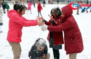 Sivas'ta eğitime kar engeli
